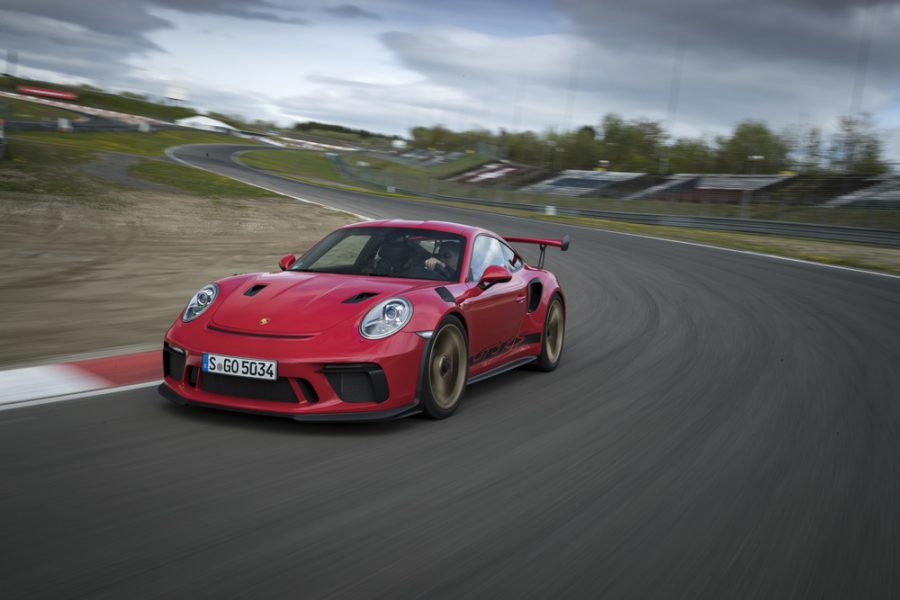 911 GT3 RS (Guards Red)