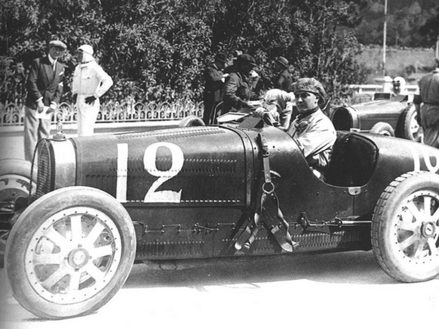 William Grover-Williams venceu primeira corrida da história em Mônaco — Foto: Reprodução