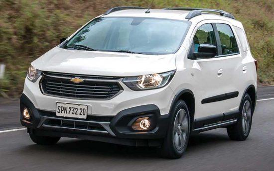Chevrolet Spin 2019 agrada toda a família com 7 lugares