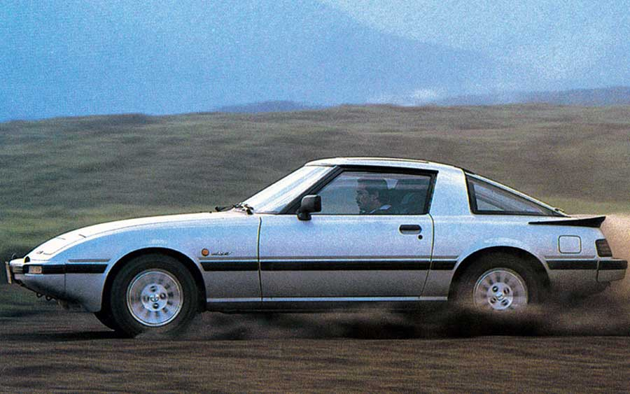 Curiosidades do Mazda RX-7, o carro do Jaspion