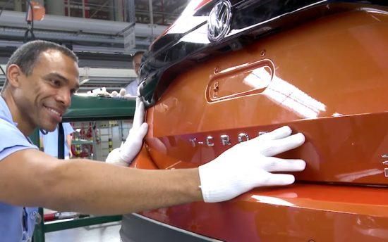 Vídeo mostra detalhes da fabricação do T‑Cross