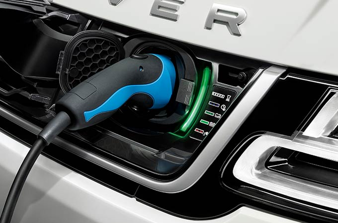 Land Rover elétrico