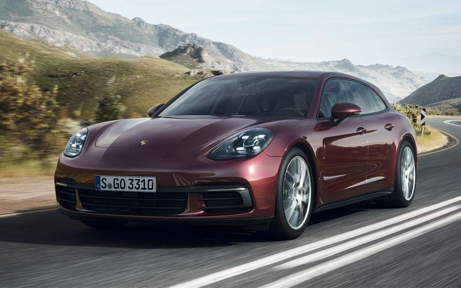 Porsche Panamera 4 Sport Turismo é cheio de luxo e conforto