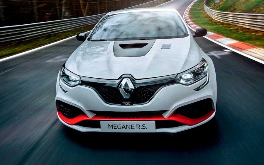 Novo Renault Mégane bate recorde no Circuito de Nürburgring