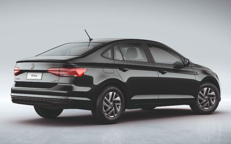 Virtus é o modelo da marca mais vendido para taxistas