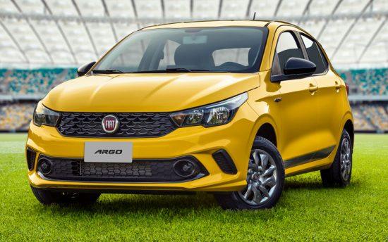 Para quem gosta de futebol: Fiat Argo ganha série especial Seleção Brasileira