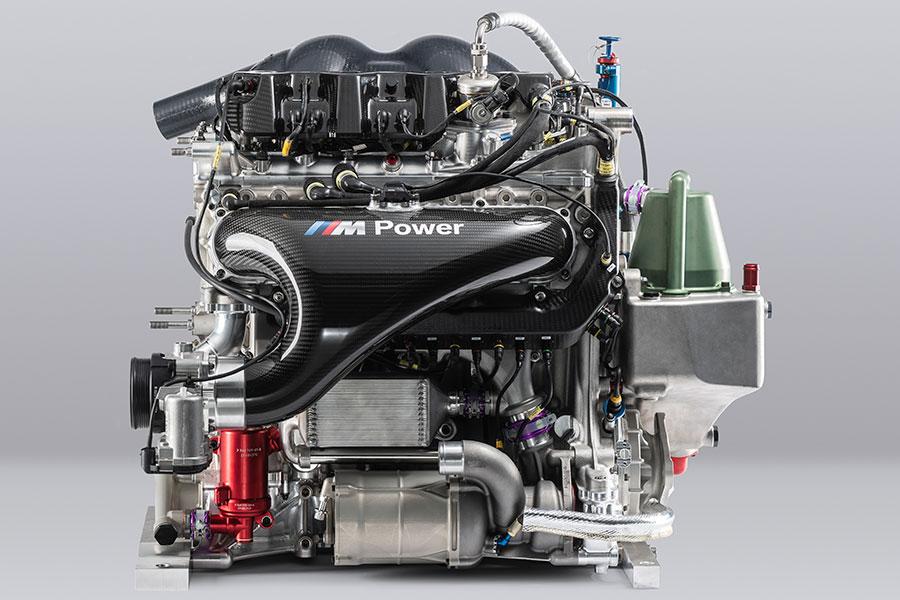 BMW P48 Turbo engine