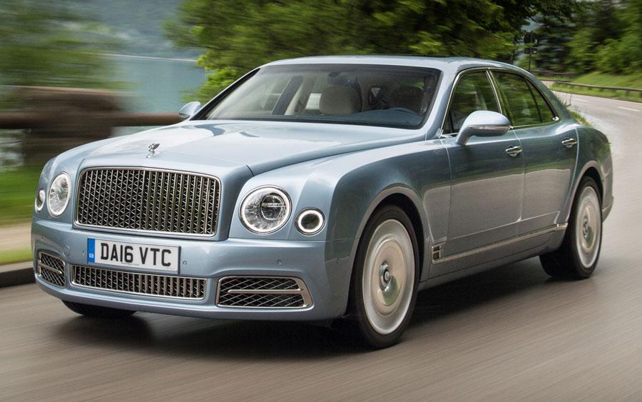 Bentley Mulsanne é a cara da riqueza
