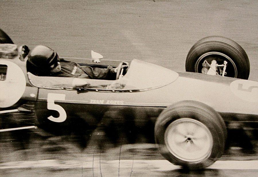 Jim Clark no GP da Alemanha de 1962 (foto: Lothar Spurzem / wikimedia)