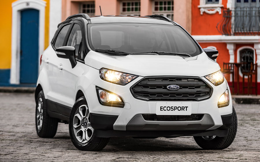 O novo estilo do Ford EcoSport FreeStyle
