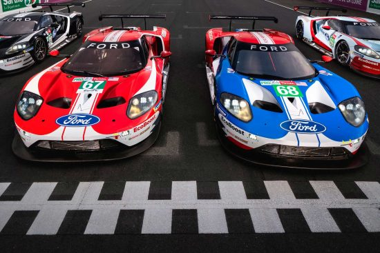 Nova série especial do Ford GT para as 24 Horas de Le Mans