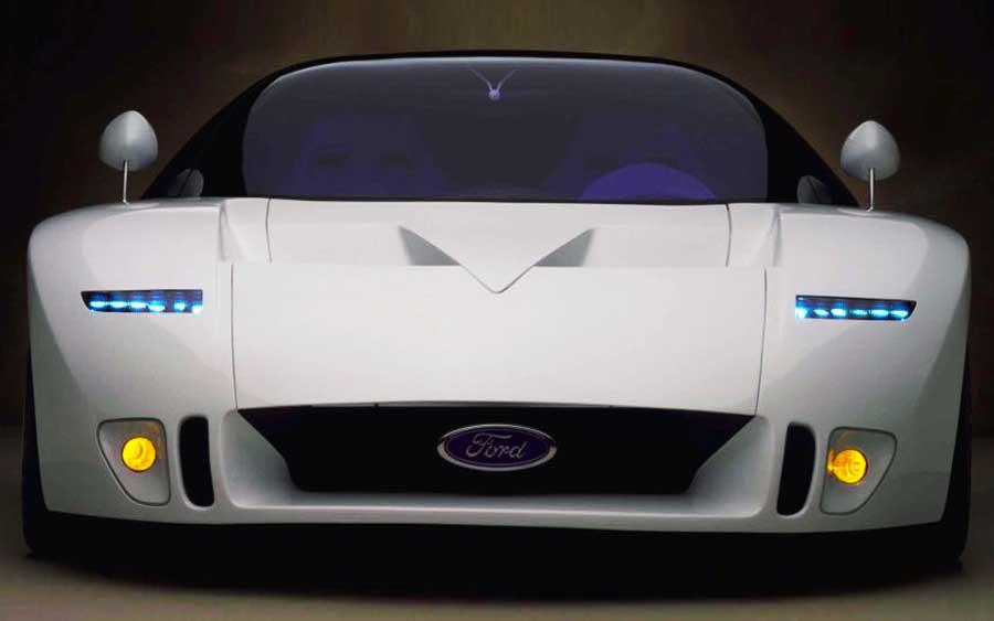 Ford GT90 virou lenda que nunca foi pra pista