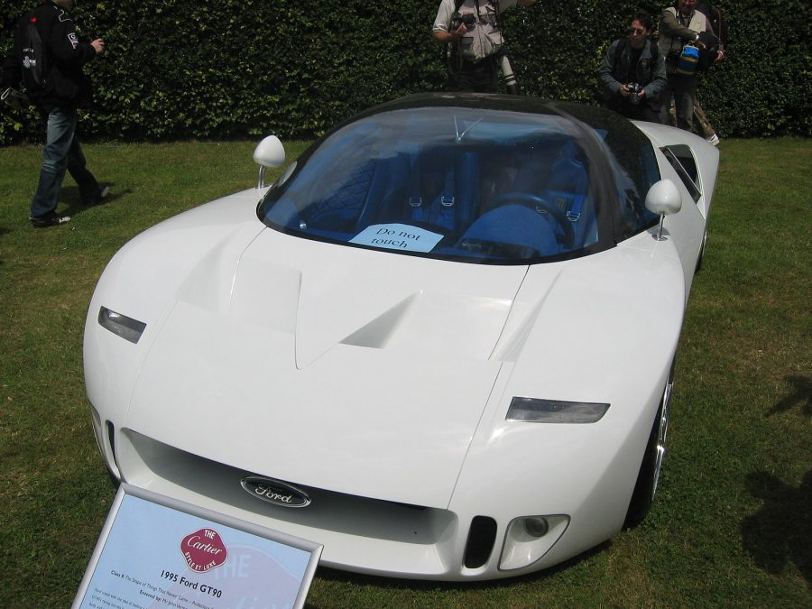 Ford GT90 (foto: Mark Woodbury / wikimedia)