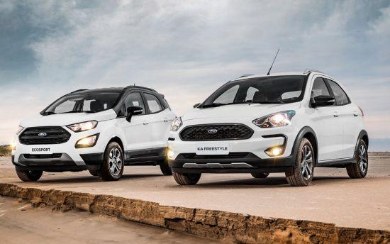 Conheça as novas versões Ford Ka FreeStyle 2020 e do EcoSport FreeStyle 2020