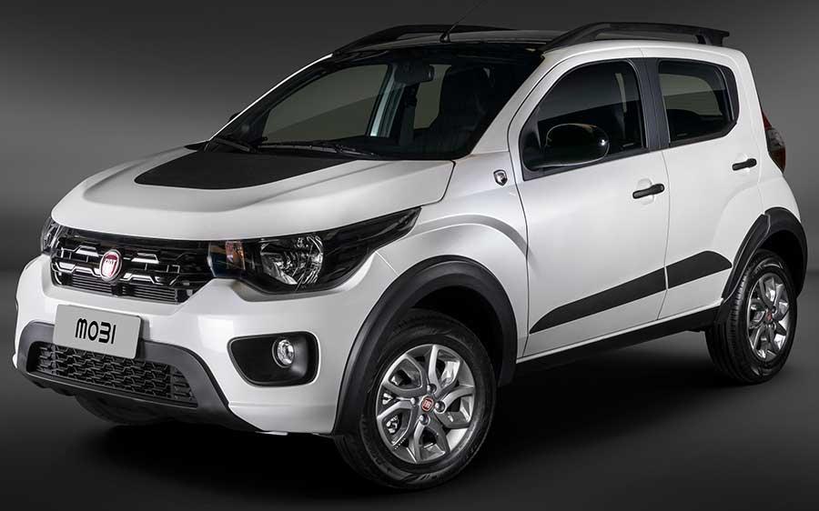 Fiat Mobi Way com Pack Cross