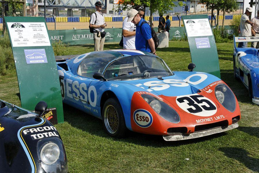 Moynet LM 75, ganhador de Mouton em 1975