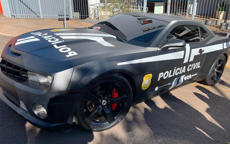 Carro de luxo vira viatura da Polícia em Passo Fundo
