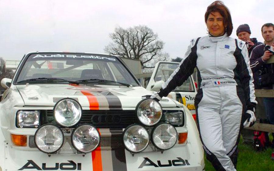 Michèle Mouton foi a primeira mulher a vencer no Mundial de Rali
