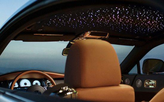 O incrível teto estrelado da Rolls Royce