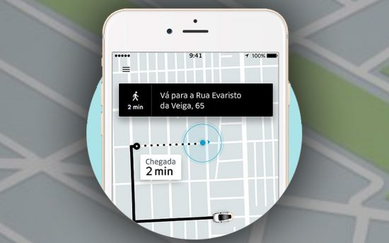 Como funciona o Uber Juntos