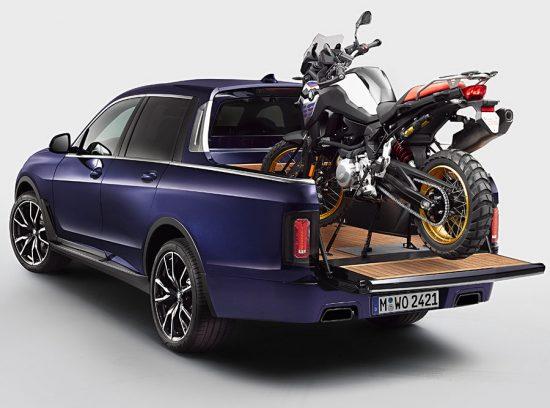 BMW apresenta picape do X7 na Alemanha, mas por enquanto nada é comercial