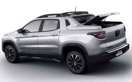 Nova Fiat Toro 2020 Ultra transforma caçamba em porta-malas
