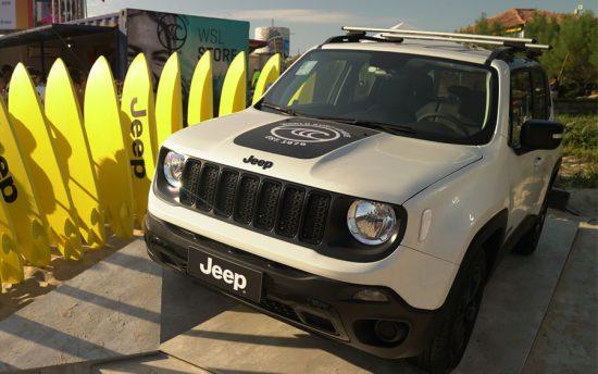Um Jeep Renegade especial para quem ama surf