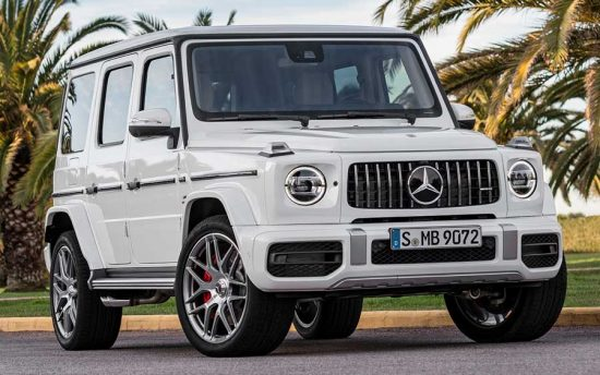 40 anos do Mercedes Classe G