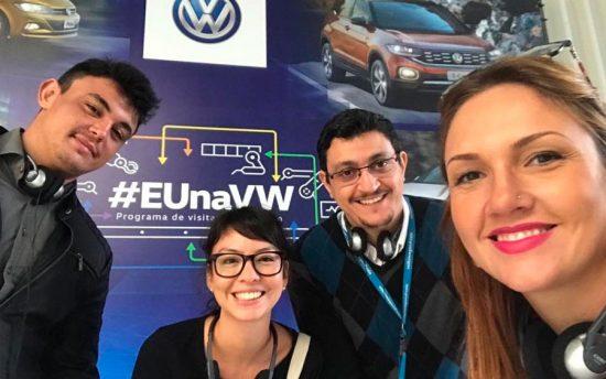 """Ver os carros na fábrica da Volkswagen Taubaté me deu uma nova visão de """"monte o seu"""""""