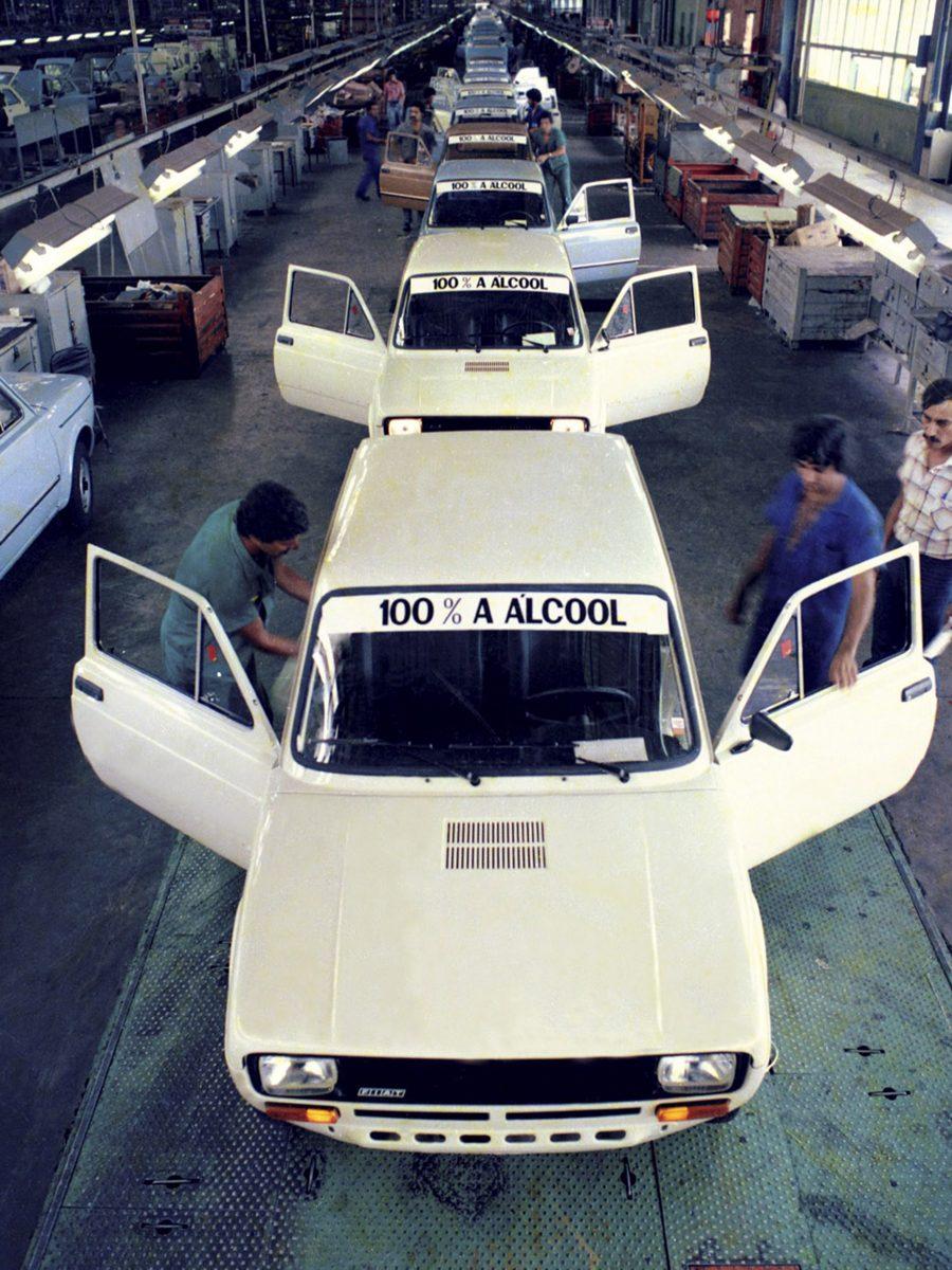 Test drive com jornalistas em 1979 no Mineirão