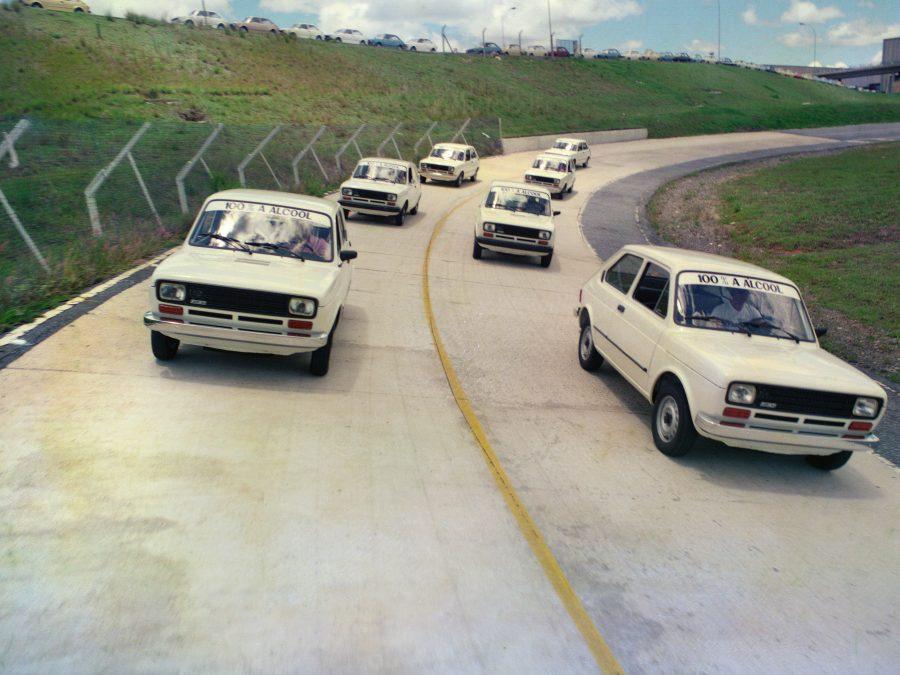 Pista de teste do Polo Fiat em 1979