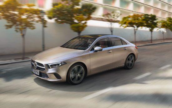 Começou as vendas do Mercedes Classe A Sedan no Brasil