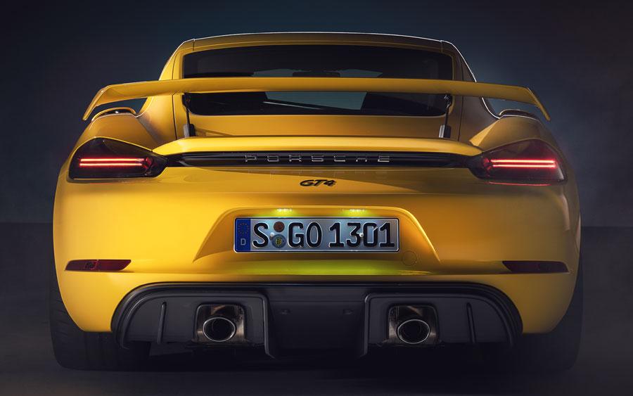 Porsche 2020: 718 Cayman GT4 e 718 Spyder seguem linhas de sucesso