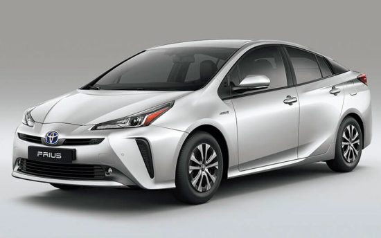 A nova cara do Toyota Prius 2019