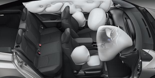 Toyota Prius 2019 - Sete airbags
