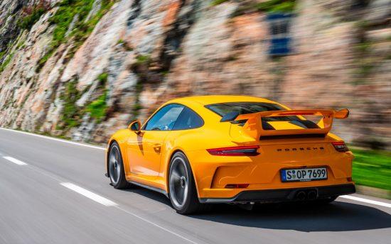 20 anos do Porsche 911 GT3