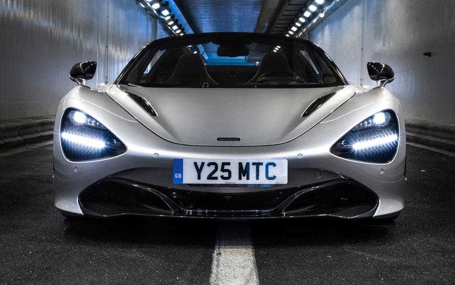 McLaren GT faz sua estreia mundial