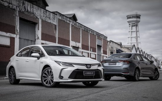 Novo Toyota Corolla 2020 é híbrido