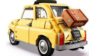 Fiat 500 vira brinquedo com Lego