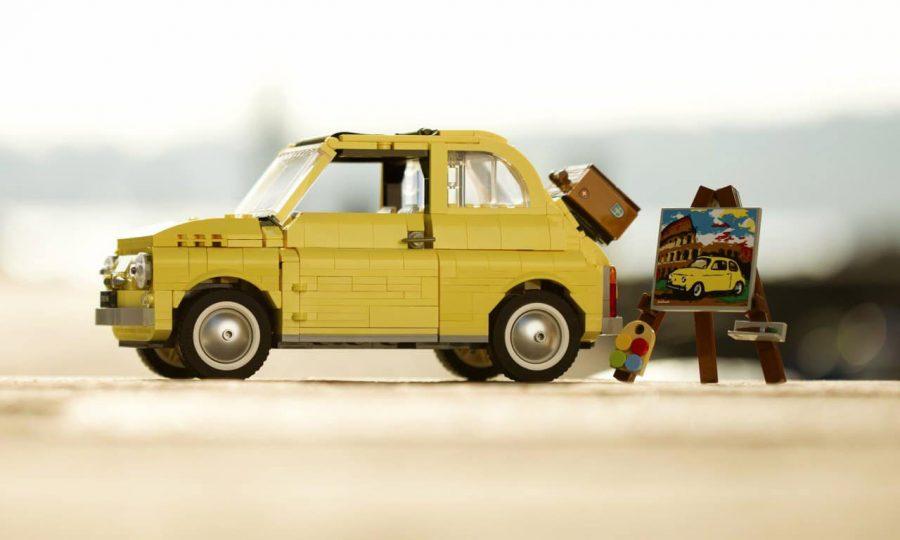 Fiat 500F em lego