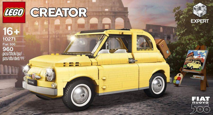 Modelo inspirado no lendário Fiat 500F