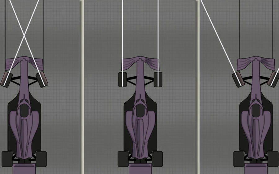 O novo sistema de direção F1 de eixo duplo da Mercedes é contra-intuitivo e brilhante