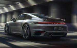 Acerto aerodinâmico ideal para todas as situações com o Porsche 911 Turbo S