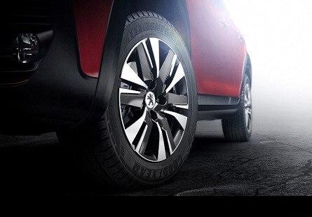 O Novo SUV Peugeot 2008 conta também com novas rodas