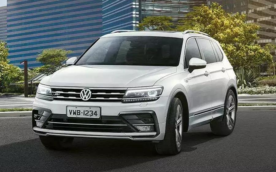 Volkswagen Tiguan Allspace é um grandão para 7 pessoas