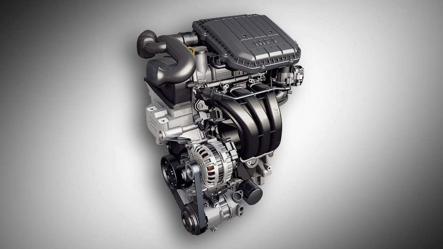 Seu Voyage pode ser equipado com o motor 1.0l MPI de três cilindros Total Flex que proporciona um desempenho surpreendente com economia de combustível e eficiência energética para um modelo dessa cilindrada.