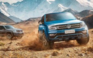 Volkswagen Amarok é uma picape que fica bem no shopping e no barro