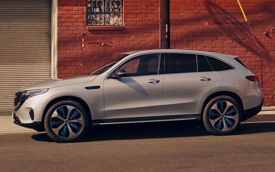 Mercedes-Benz lança o EQC, seu SUV 100% elétrico