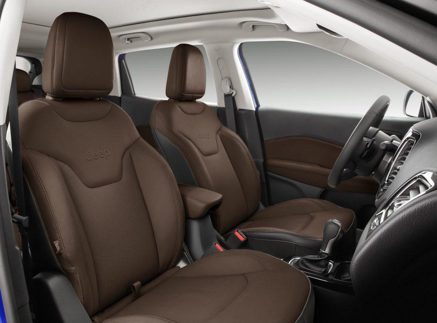 Novo interior do Jeep Compass Limited