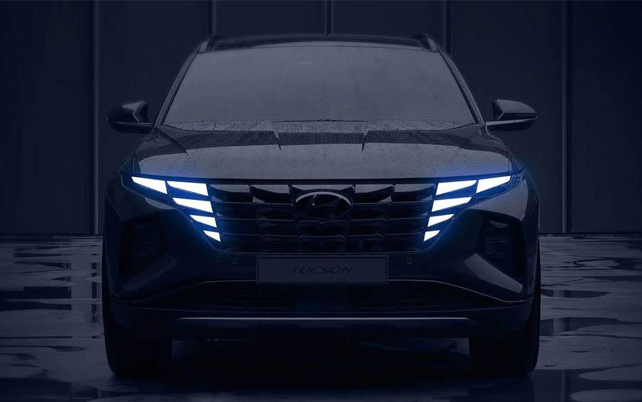 Hyundai radicaliza no design na quarta geração do Tucson 2021